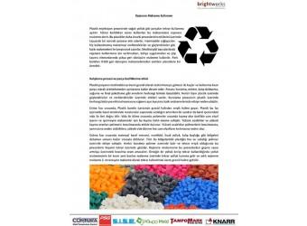 Haziran 2015 Teknik Bülten - Rejenere malzeme kullanımı